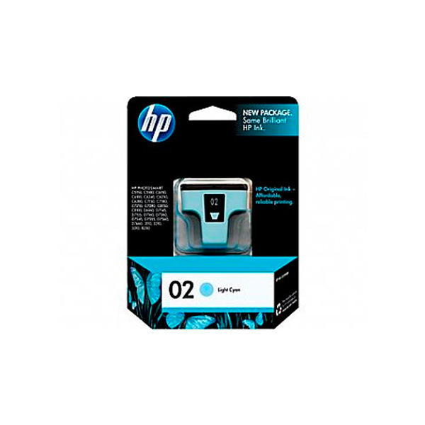 CARTUCHO HP C8774W (02) 5,5ML CIANO CLARO