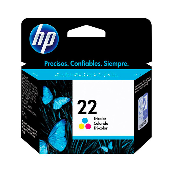 CARTUCHO HP C9352A (22) 6ML COLOR