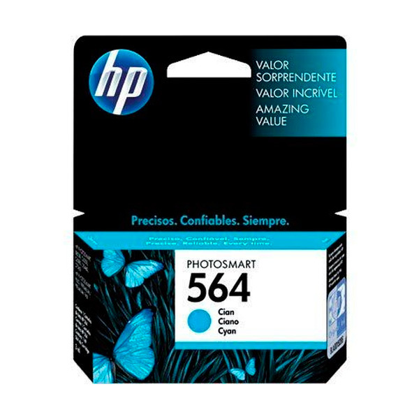 CARTUCHO HP CB318W (564) 3,5ML CIANO