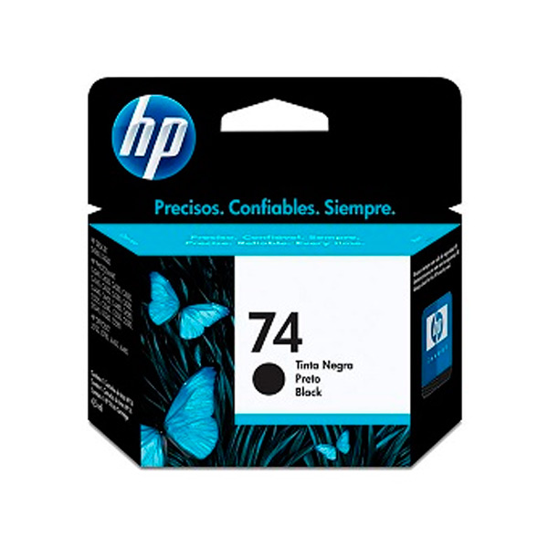 CARTUCHO HP CB335W (74) 5,5ML PRETO