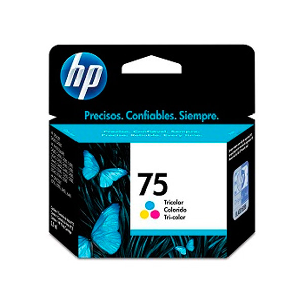 CARTUCHO HP CB337W (75) 5,5ML COLOR