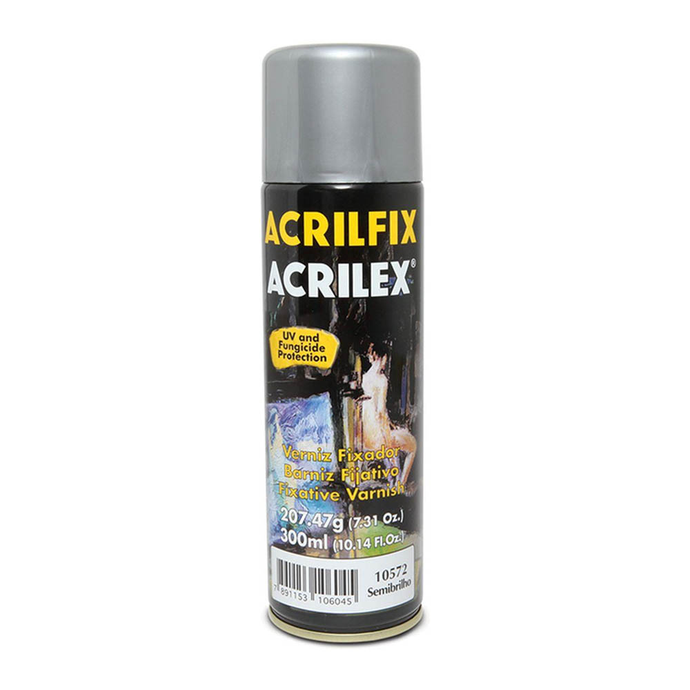 VERNIZ SPRAY FOSCO 300ML ACRILFIX 10972